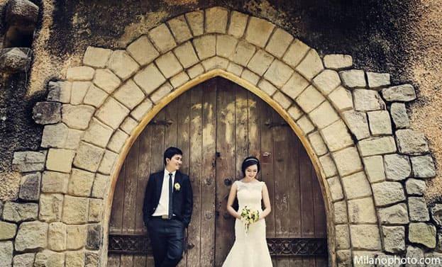 Ảnh cưới đẹp ở Tiểu Paris giữa miền nhiệt đới