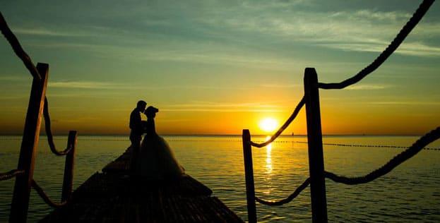 ảnh cưới 2017 hoàng hôn