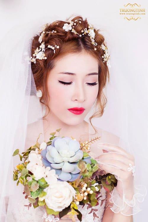 tóc tết được nhiều cô dâu yêu thích
