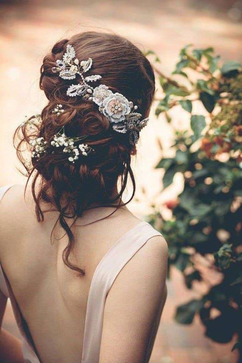 Xu hướng tóc cưới mùa thu