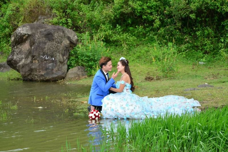Chụp ảnh cưới tại gia lai
