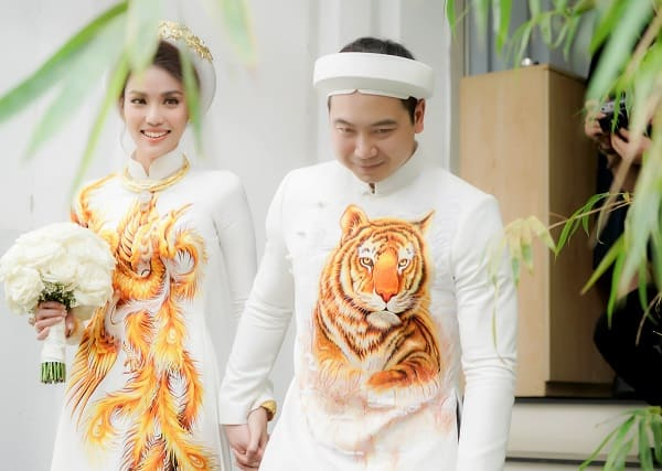 áo dài cưới Lan Khuê 6