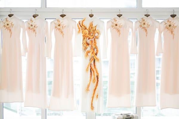 áo dài cưới Lan Khuê 8