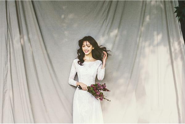 kiểu tóc cô dâu đẹp
