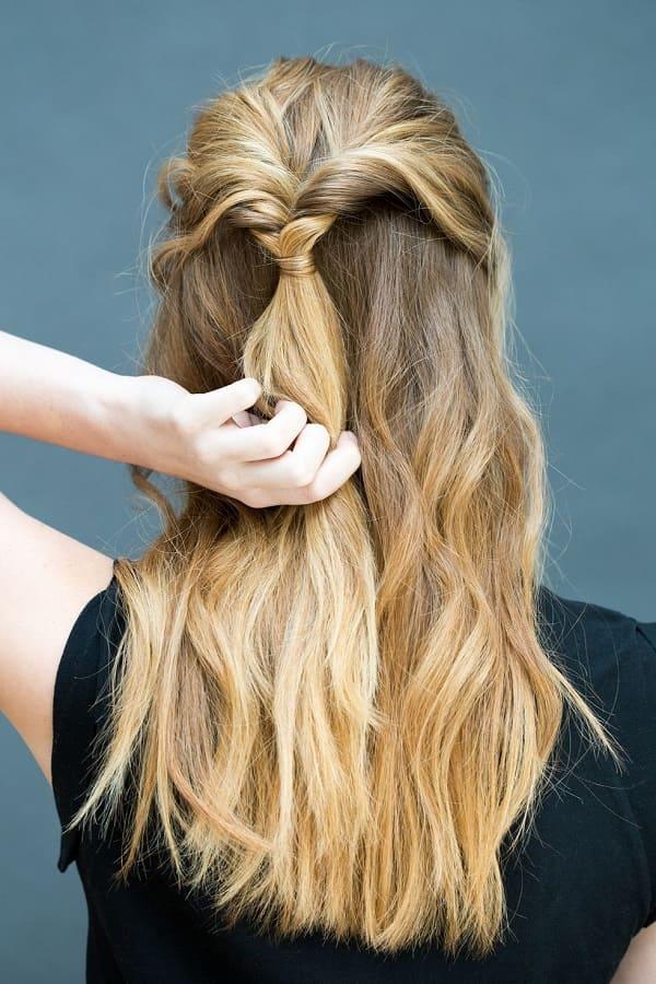 làm tóc đi đám cưới đơn giản 11