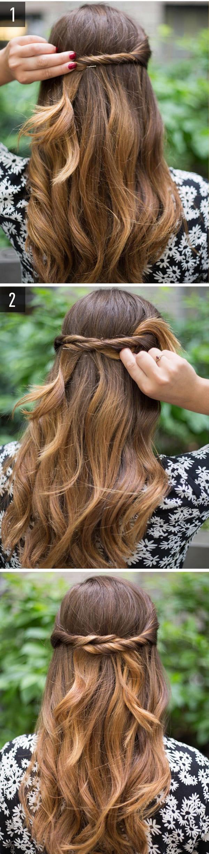 làm tóc đi đám cưới đơn giản 4