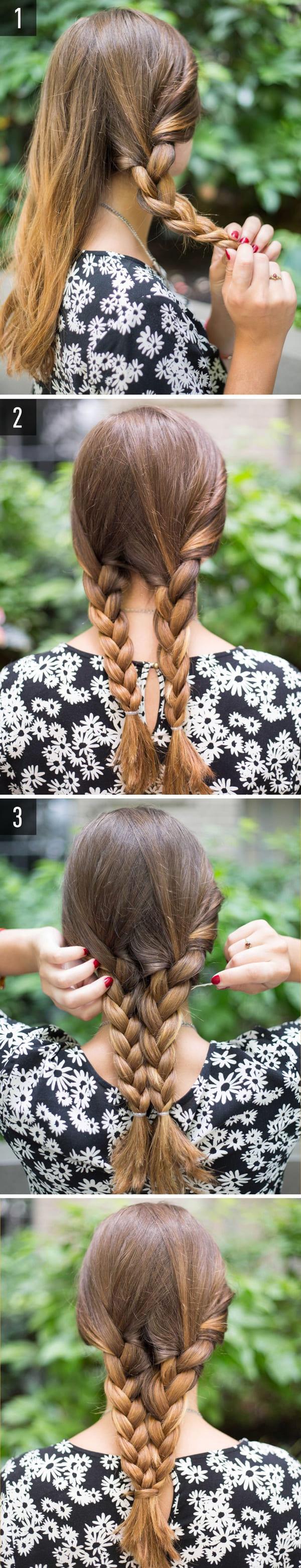làm tóc đi đám cưới đơn giản 9