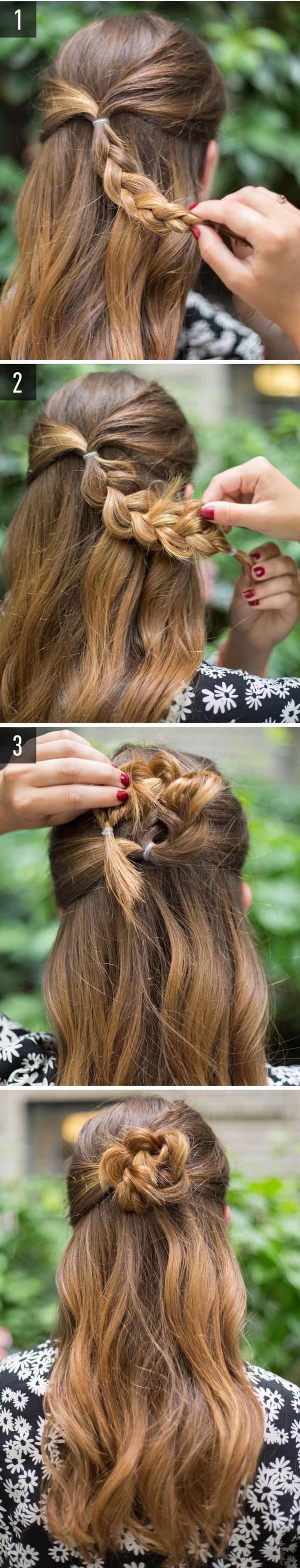 làm tóc đi đám cưới đơn giản