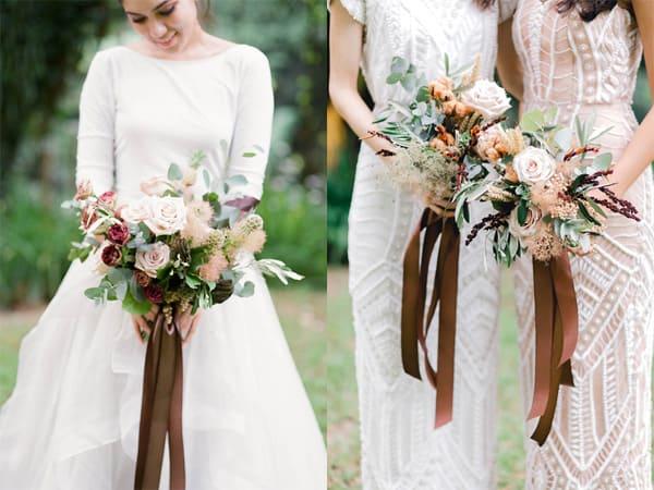 phối màu hoa cưới cô dâu 2