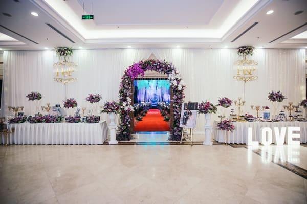 Theme cưới tím 2