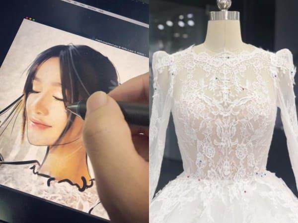 váy cưới Nhã Phương 2