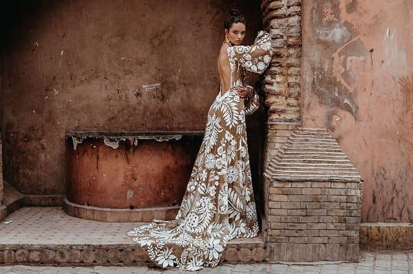 váy cưới bohemian 1