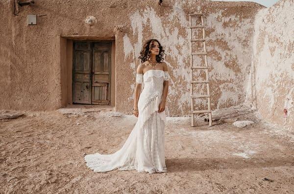 váy cưới bohemian 10