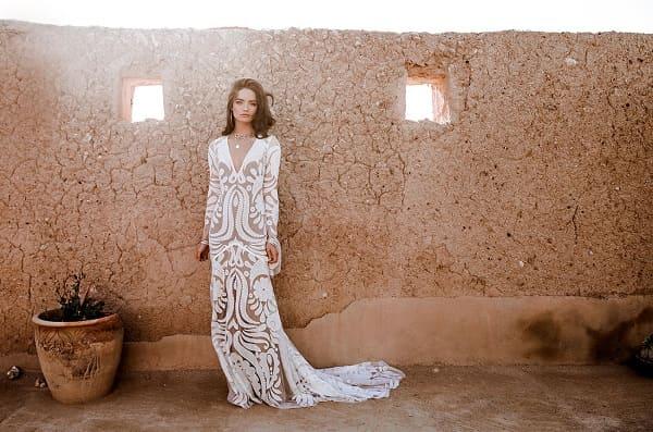 váy cưới bohemian 12