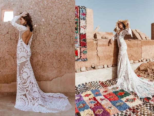 váy cưới bohemian 13