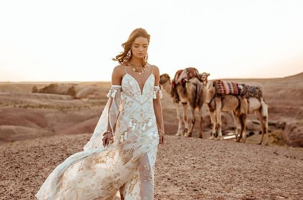 váy cưới bohemian 16