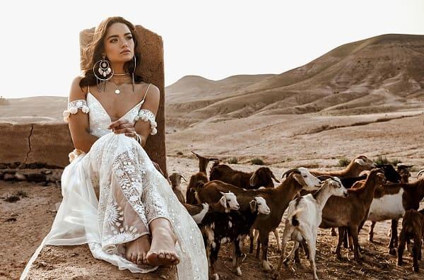 váy cưới bohemian 19