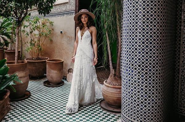 váy cưới bohemian 21