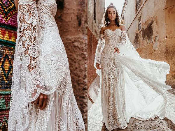 váy cưới bohemian 3