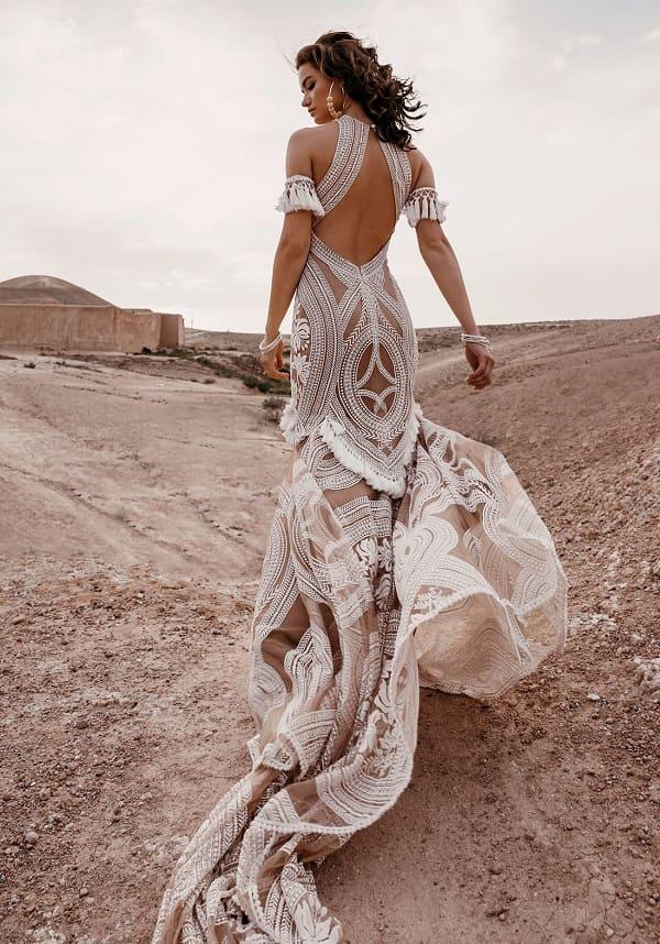 váy cưới bohemian 9