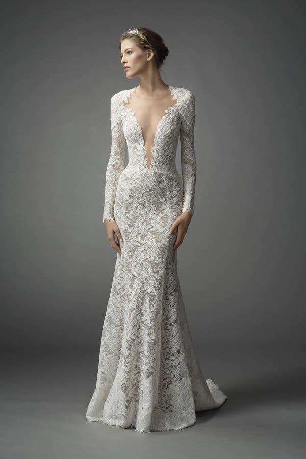Váy cưới có tay 3