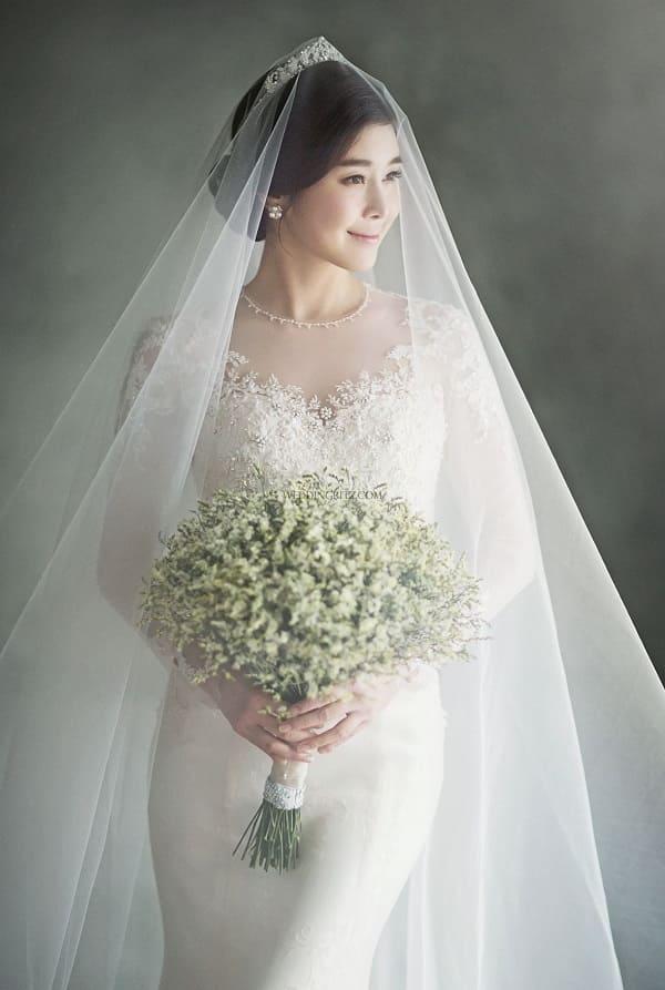 Váy cưới có tay 1