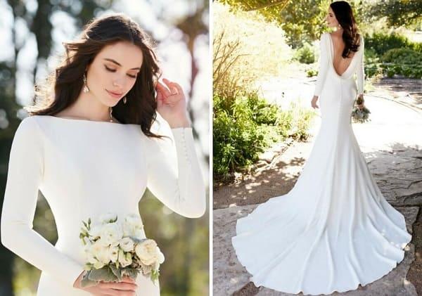 Váy cưới có tay 2