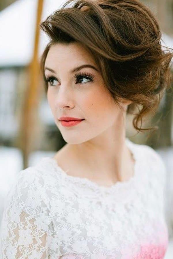 xu hướng tóc cưới cô dâu tóc ngắn 2