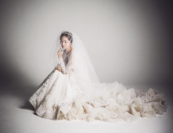 kiểu tóc cô dâu Hàn Quốc 10
