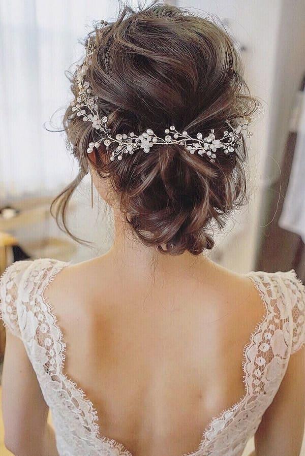 kiểu tóc cô dâu Hàn Quốc 14