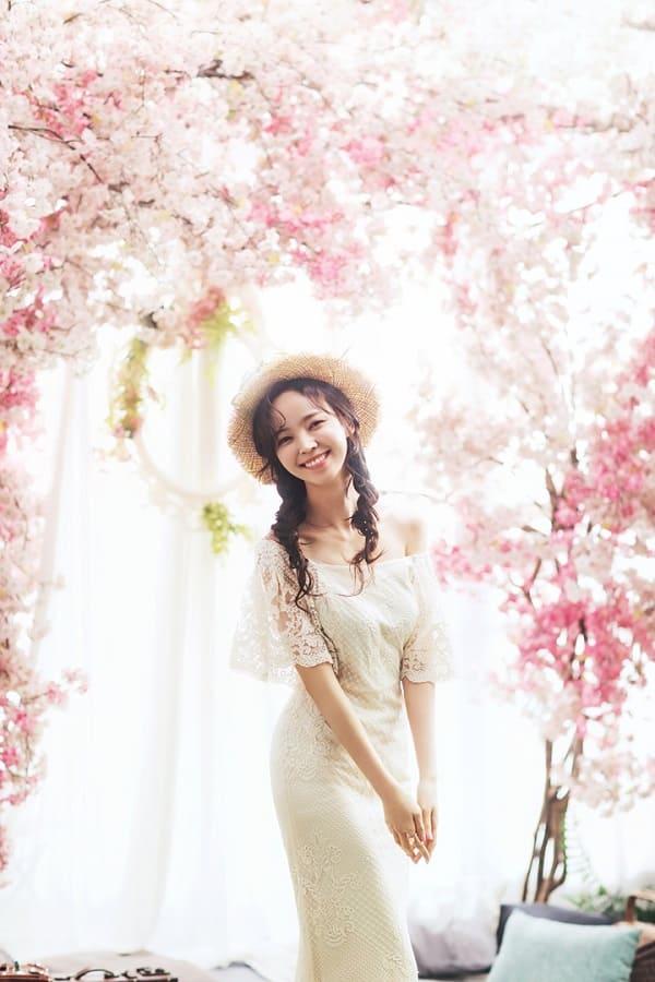 kiểu tóc cô dâu Hàn Quốc 17