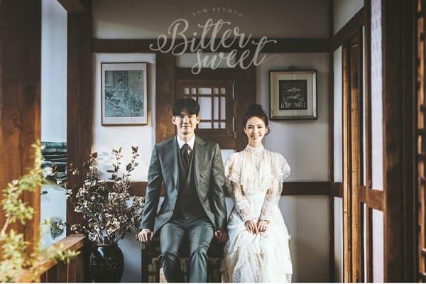 kiểu tóc cô dâu Hàn Quốc 3
