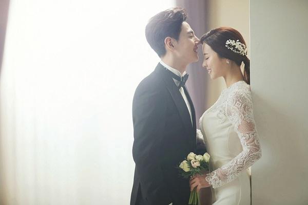 kiểu tóc cô dâu Hàn Quốc 9