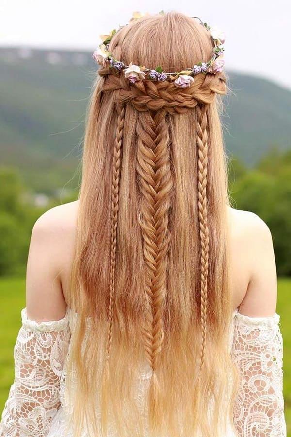 kiểu tóc cô dâu Hàn Quốc