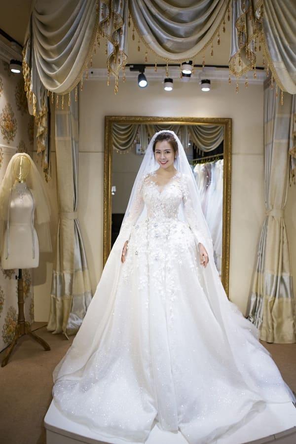 váy cưới của Vũ Ngọc Ánh 8