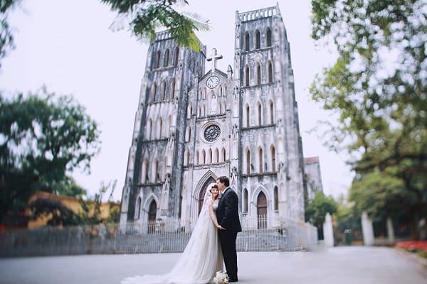 Địa điểm chụp ảnh cưới đẹp ở Hà Nội 3