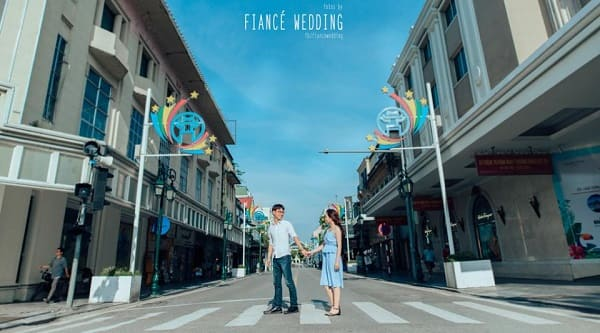 Địa điểm chụp ảnh cưới đẹp ở Hà Nội 7